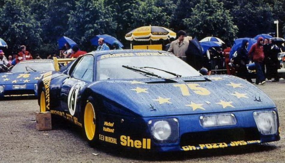 Meri : Kit Ferrari 512BB European University n°75 LM 1980 --> S