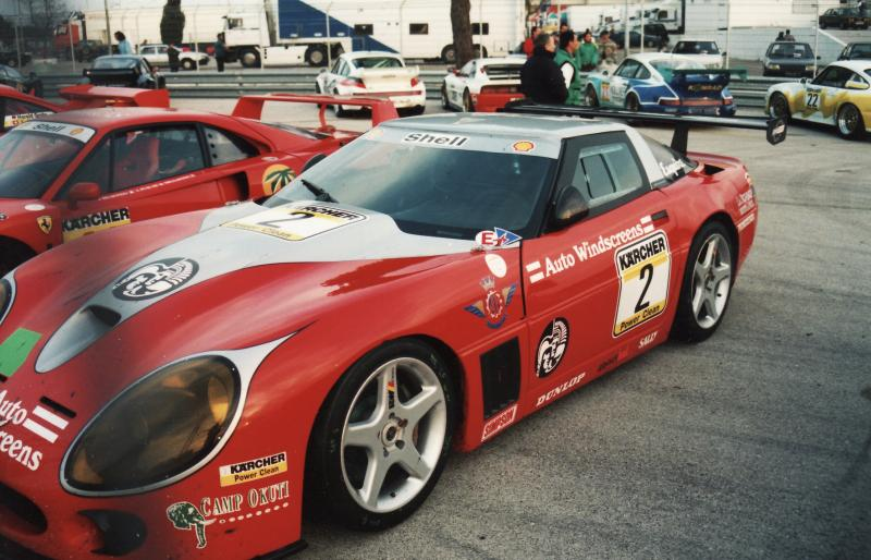 AM Ruf : Kit Chevrolet Corvette Callaway Team Agusta Monza 1995