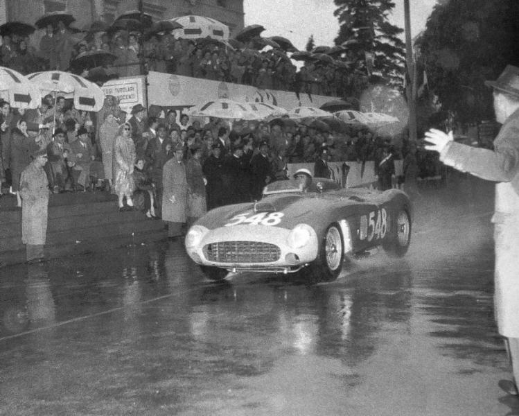 AMG : Kit Ferrari 290MM winner Mille Miglia 1956 + Engine