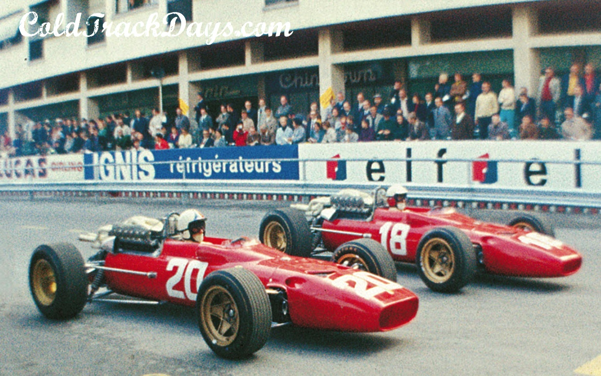 MFH Hiro : Kit Ferrari 312F1 Monaco, Dutch, Belgian 1967 -> SOLD