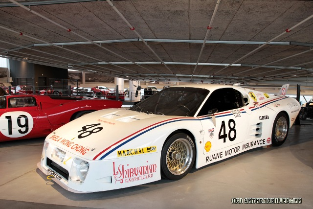 Meri : Kit Ferrari 512BB Rosso Racing Le mans 1981  --> SOLD