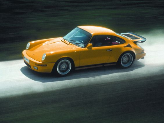 AM Ruf : Kit Porsche 911 CTR RUF Yellow Bird 1989
