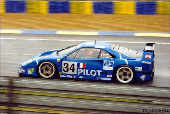 Feeling43 Kit Ferrari F40 Lm Pilot Le Mans 1995 Sold Modelart111