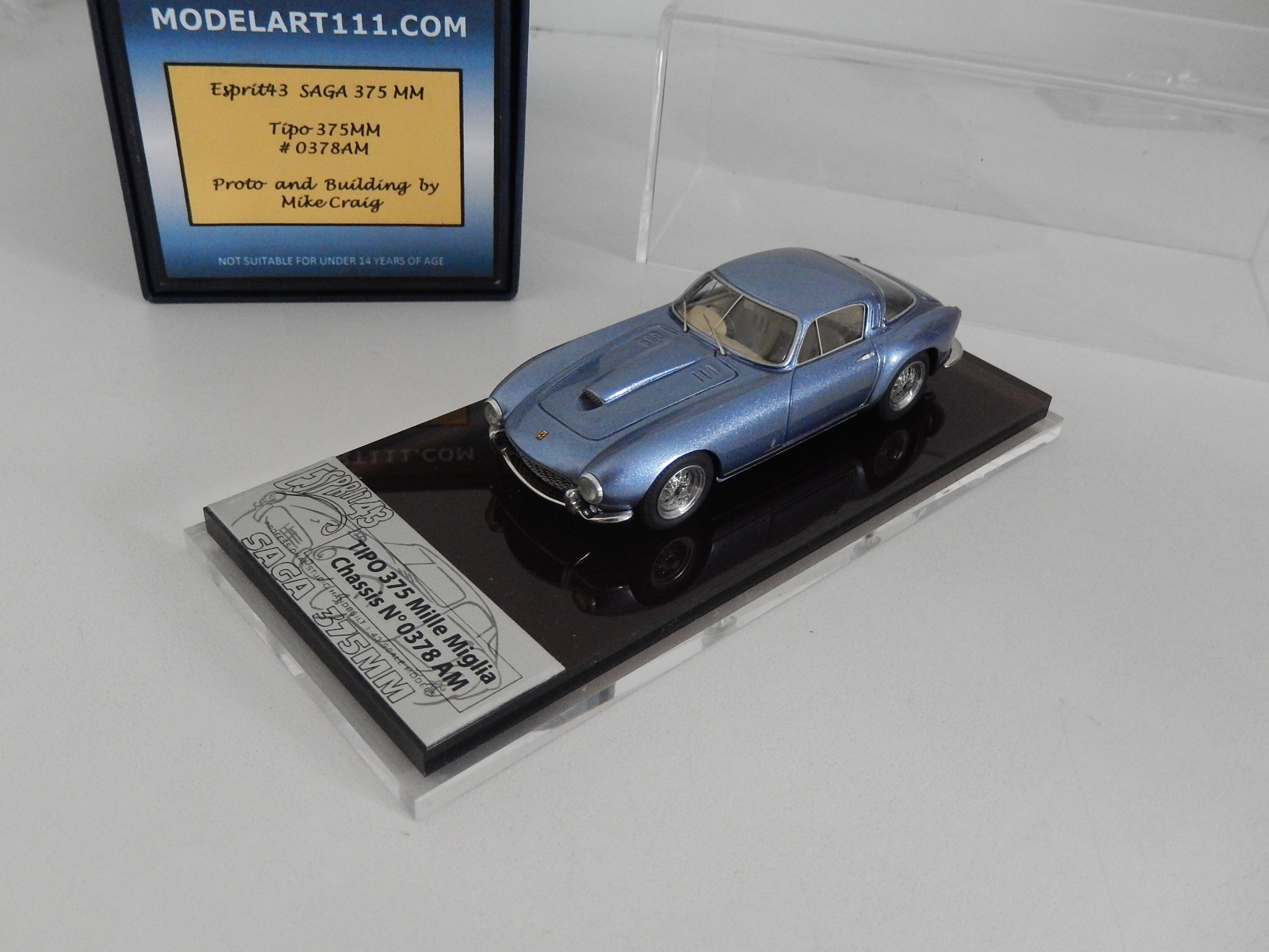 M. Craig : Ferrari 375MM #0378  --> SOLD