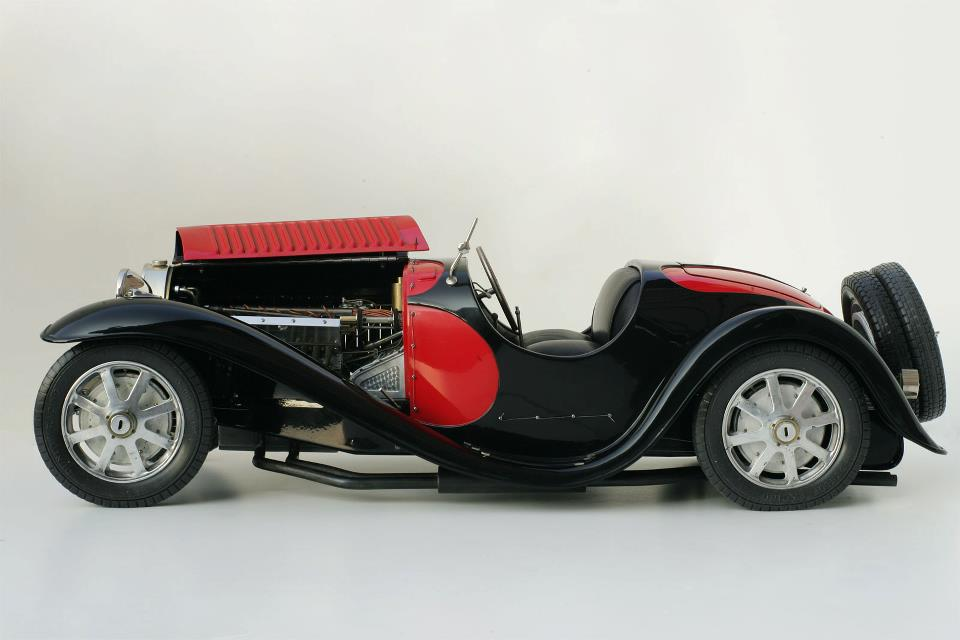 Sean McKenna : Bugatti T55 roadster in 1/8 scale -> SOLD