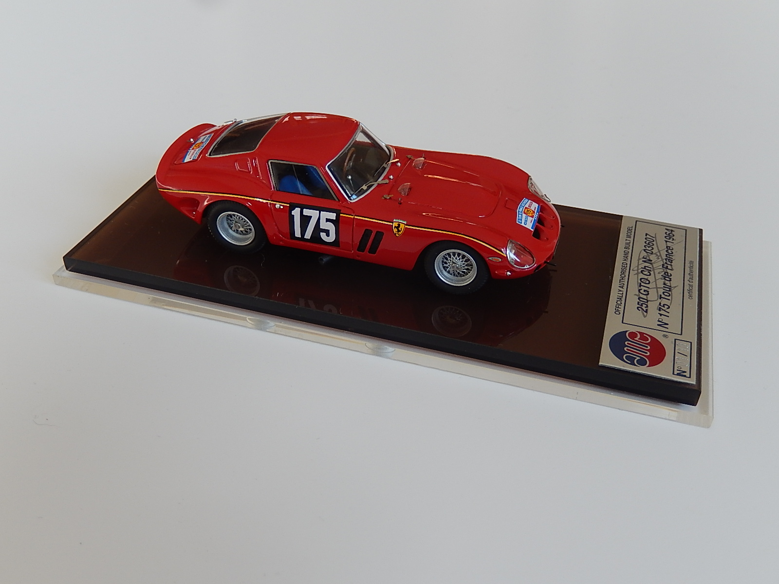 AM Ruf : Ferrari 250 GTO 3607 TdF 1964 - n° 01/10  --> SOLD
