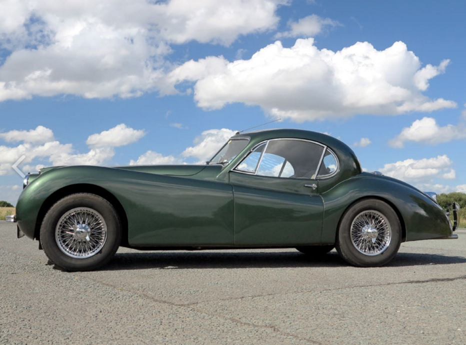 AM Ruf : Kit Jaguar XK120 coupé