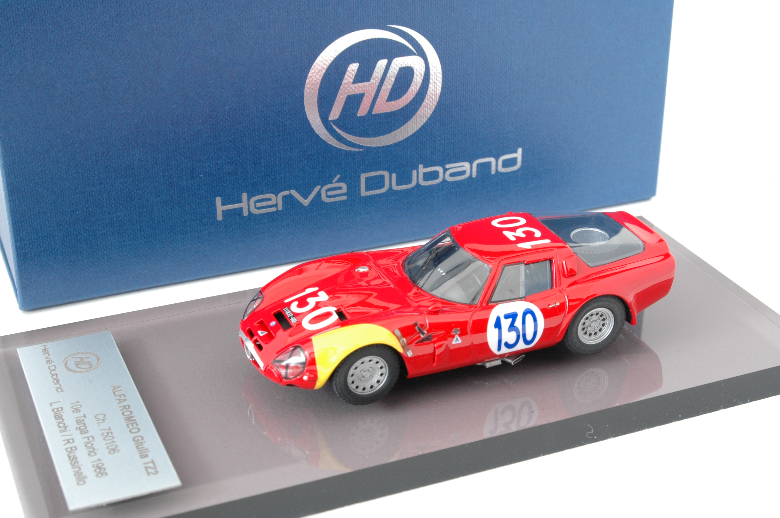 H. Duband : Alfa TZ2 from the MFH kit  --> SOLD