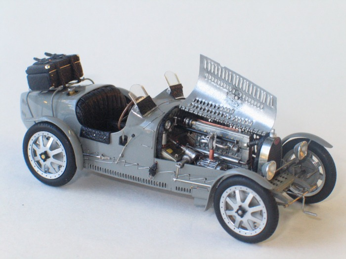 Bouissou : Bugatti T35C  !! one of the 3 made !! --> SOLD