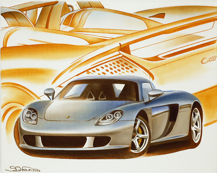S.Dufour : Carrera GT  --> original painting